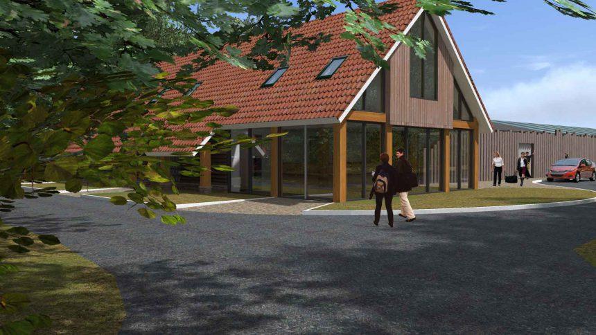 Bert Kaspers - project entreegebouw vakantiepark Drouwen